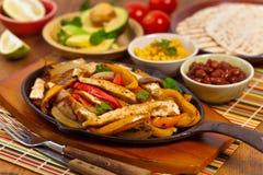 Chicken Fajitas stock image