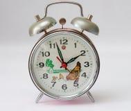 Chicken farm alarm clock Stock Images