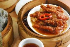 Chicken feet. Chinese dim sum chicken feet Royalty Free Stock Photo