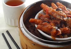 Chicken feet Stock Image