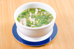 Chicken Feet soup. Stock Image