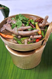 Chicken feet spicy. Asia food Stock Photography