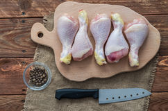 The chicken feets Stock Photos