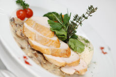 Chicken Fillet Dish Royalty Free Stock Photography