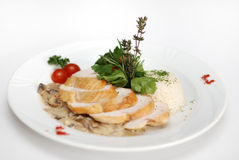 Chicken Fillet Dish Royalty Free Stock Photo