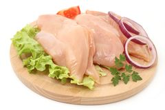 Chicken fillets Stock Photo