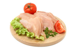 Chicken fillets Stock Images