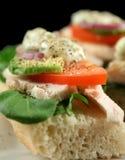 Chicken Finger Sandwich Royalty Free Stock Image
