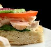 Chicken Finger Sandwich Stock Image