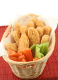 Chicken fingers Stock Image