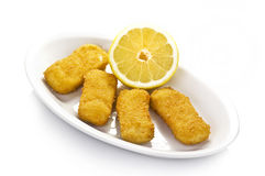 Chicken fingers. On the plate Stock Image
