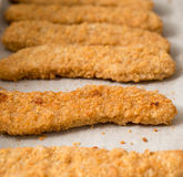 Chicken fingers Stock Images