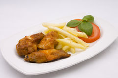 Chicken fingers Royalty Free Stock Photography