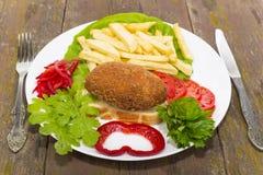 Chicken fish Ukraine Stock Photography