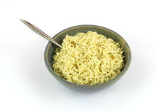 Chicken flavored noodles Stock Image