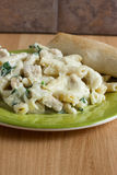 Chicken Florentine Stock Image