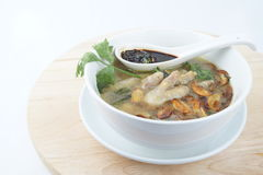 Chicken foot soup Royalty Free Stock Photography