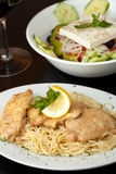 Chicken Francaise Royalty Free Stock Photography