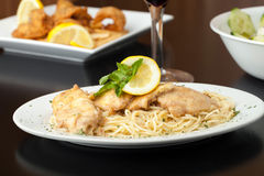 Chicken Francaise Stock Photography