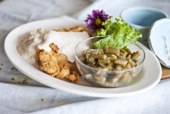 Chicken Fried Chicken Royalty Free Stock Images