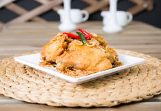 Chicken fried Royalty Free Stock Image