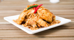 Chicken fried Stock Photos