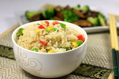 Chicken Fried Rice Stock Photos
