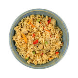 Chicken Fried Rice Bowl Royalty Free Stock Images
