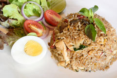 Chicken Fried Rice Royalty Free Stock Image
