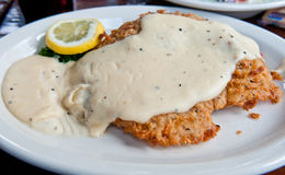 Free Chicken Fried Steak Royalty Free Stock Images - 18267949