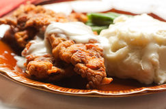 Chicken Fried Steak Royalty Free Stock Photos