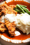 Chicken Fried Steak Royalty Free Stock Photography
