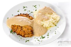 Chicken Fried Steak stock images
