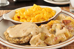 Chicken fried steak Royalty Free Stock Image