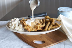 Chicken Fried Steak Stock Image