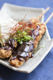 Chicken fried teriyaki Royalty Free Stock Photography