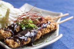 Chicken fried teriyaki Stock Image