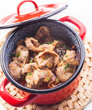 Chicken gizzards Royalty Free Stock Photo