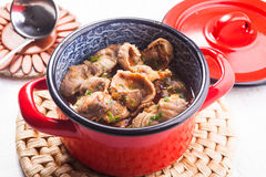 Chicken gizzards Royalty Free Stock Images
