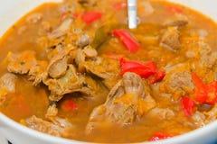 Chicken gizzards stew Stock Photos