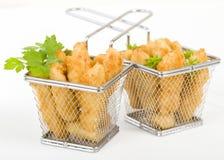 Chicken Goujons stock image