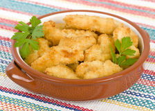 Chicken Goujons Royalty Free Stock Photography