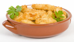 Chicken Goujons Stock Photography