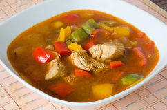 Chicken Goulash Stock Photography