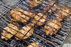 Chicken grill Stock Photo