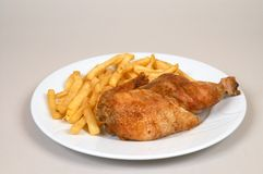 Chicken grill Royalty Free Stock Image