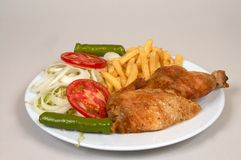 Chicken grill Stock Photo