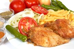 Chicken Grill Stock Images