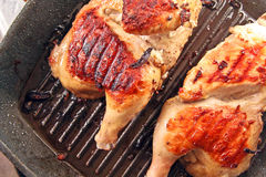 Chicken grilled Royalty Free Stock Image