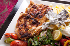 Chicken Grilled Stock Photography